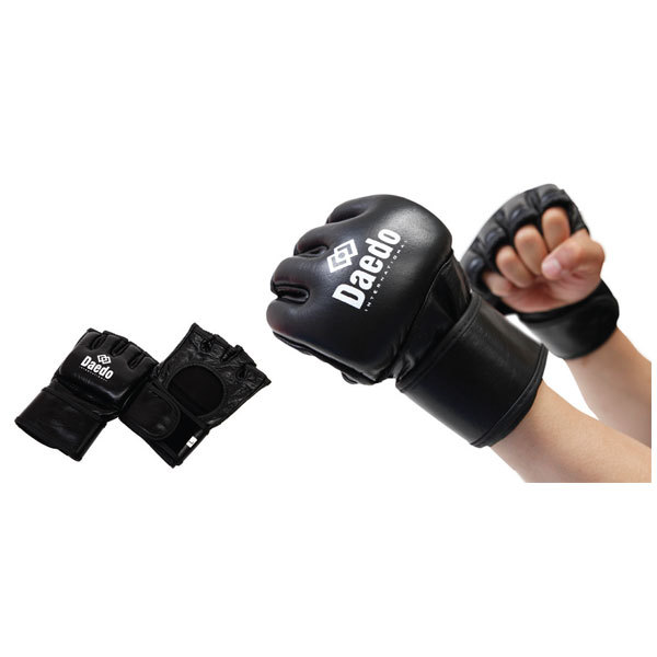 "Guantes MMA ""Fighter"" Negro DAE DO"