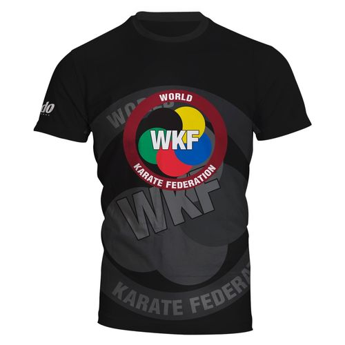 "CAMISETA WKF FULL PRINT ""BLACK"" DAEDO"